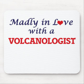 Madly in love with a Volcanologist Mouse Pad