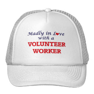 Madly in love with a Volunteer Worker Trucker Hat