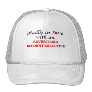 Madly in love with an Advertising Account Executiv Trucker Hat