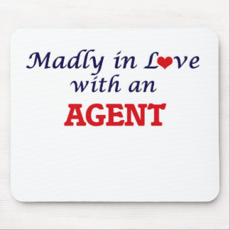 Madly in love with an Agent Mouse Pad