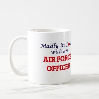 Madly in love with an Air Force Officer Coffee Mug