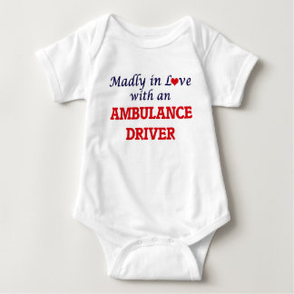 Madly in love with an Ambulance Driver Baby Bodysuit