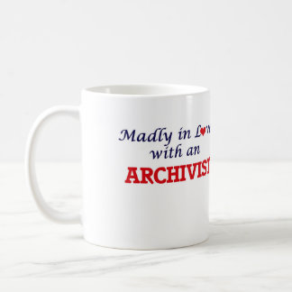 Madly in love with an Archivist Coffee Mug