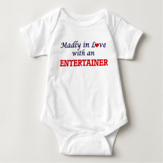 Madly in love with an Entertainer Baby Bodysuit