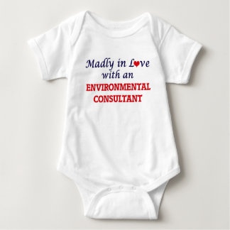 Madly in love with an Environmental Consultant Baby Bodysuit