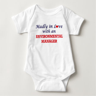 Madly in love with an Environmental Manager Baby Bodysuit