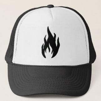 Madmen Hat (white and Black)