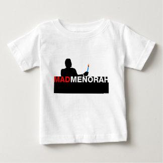 MadMenorah Hanukkah Baby T-Shirt