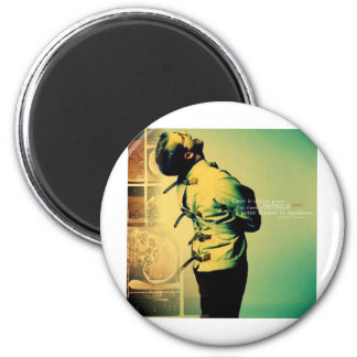 Madness in Love 2 Inch Round Magnet