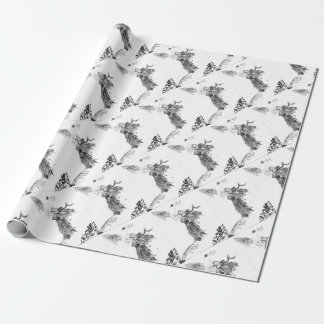 Madness Siren Wrapping Paper