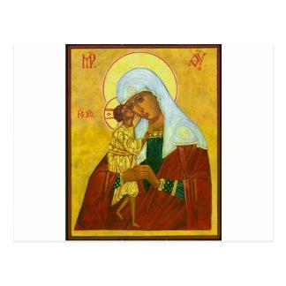 Madona and Child Postcard