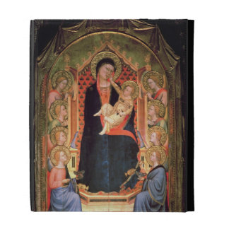 Madonna and Child, 1347 iPad Folio Case