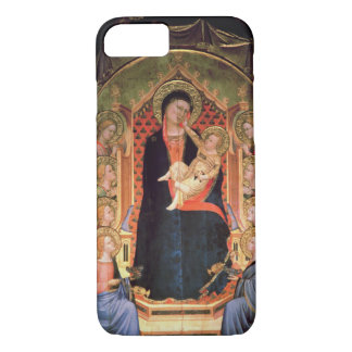 Madonna and Child, 1347 iPhone 7 Case