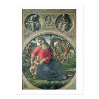 Madonna and Child, 1490-95 (oil on panel) Postcard