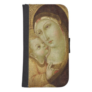 Madonna and Child 2 Galaxy S4 Wallet Case