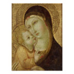 Madonna and Child 2 Poster