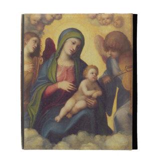 Madonna and Child and child in Glory, c.1520 (oil iPad Folio Case