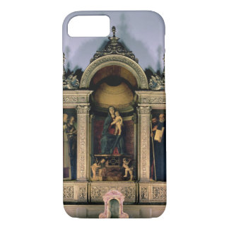 Madonna and Child and Saints (triptych altarpiece) iPhone 7 Case