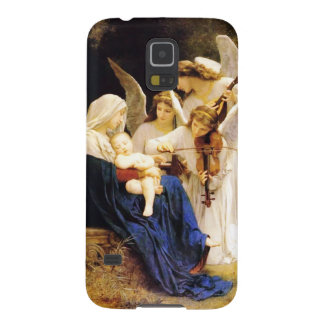 Madonna and Child and Three Angels Galaxy S5 Cases