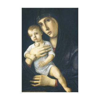 Madonna and Child by Giovanni Bellini Canvas Print