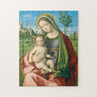 Madonna and Child by Giovanni Bellini Jigsaw Puzzle