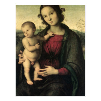 Madonna and Child, c.1495 Postcard