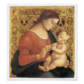 Madonna and Child, c. 1505 Poster