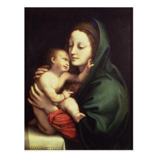 Madonna and child, c.1510 postcard