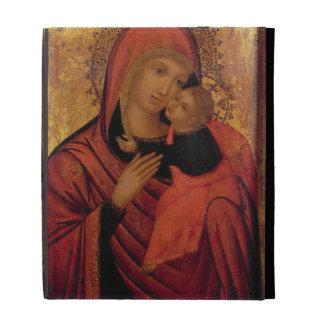 Madonna and Child, c.1650 (panel) iPad Folio Cover