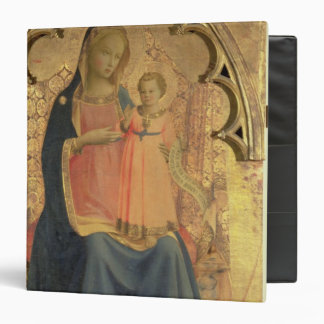 Madonna and Child, central panel of a triptych Vinyl Binder