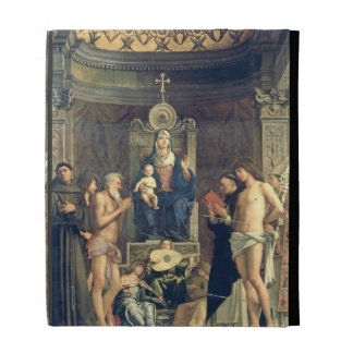 Madonna and Child Enthroned between SS. Francis, J iPad Folio Cover