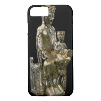 Madonna and Child Enthroned, statuette, French, 12 iPhone 7 Case