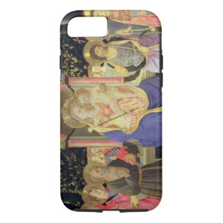 Madonna and Child enthroned with saints (altarpiec iPhone 7 Case