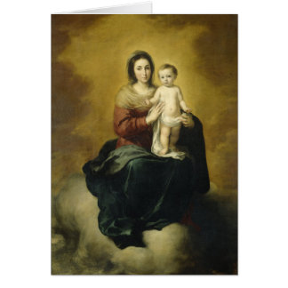 Madonna and Child, Fine Art Christmas Card