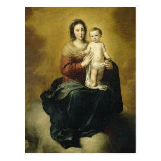Madonna and Child, Fine Art Postcard