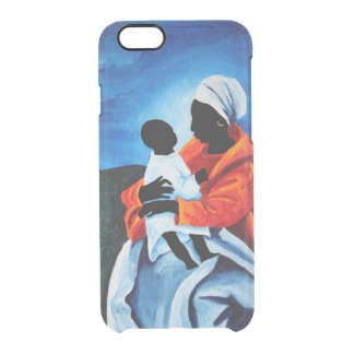 Madonna and child - First words 2008 Clear iPhone 6/6S Case
