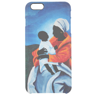 Madonna and child - First words 2008 Clear iPhone 6 Plus Case