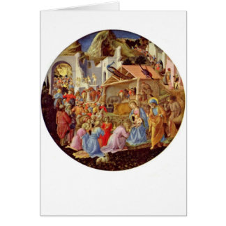 Madonna and Child - Fra Angelico - 1564 Card