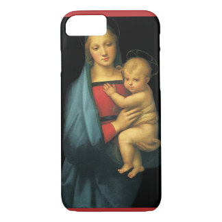 Madonna And Child, Madonna del Granduca by Raphael iPhone 7 Case