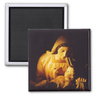 Madonna and Child, Madrid, Spain Magnet