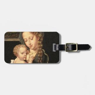 Madonna and Child Nursing Travel Bag Tags