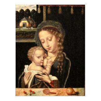 Madonna and Child Nursing Postcard