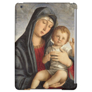 Madonna and Child (oil on panel) 2 iPad Air Cover