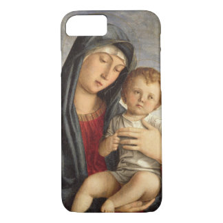 Madonna and Child (oil on panel) 2 iPhone 7 Case