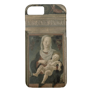 Madonna and Child (oil on panel) iPhone 7 Case