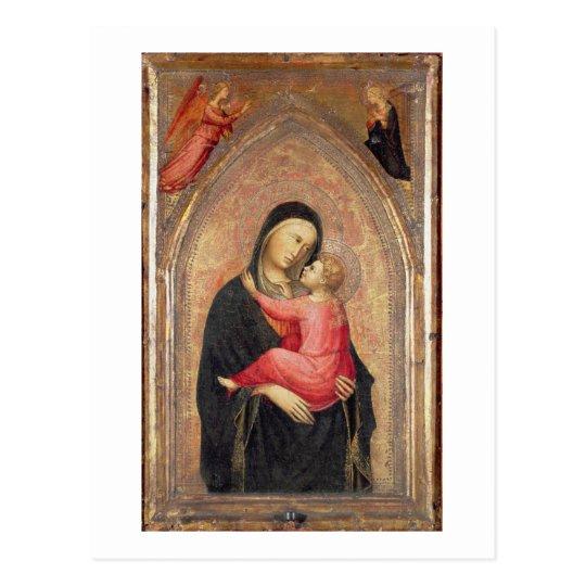 Madonna and Child (panel) 3 Postcard