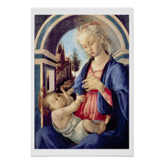 Madonna and Child (panel) 3 Poster