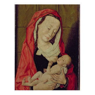 Madonna and Child (panel) Postcard