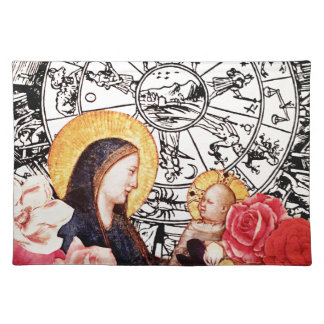 madonna and child placemat