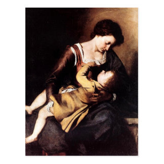 Madonna and Child Postcard